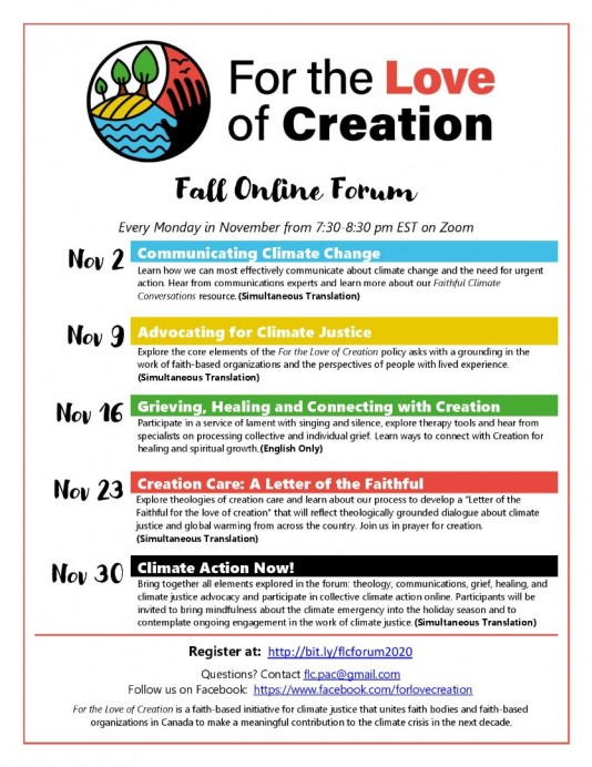 fall forum poster